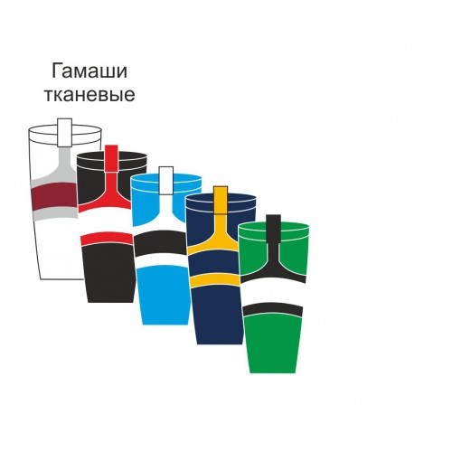 Гамаши спортивные тканевые