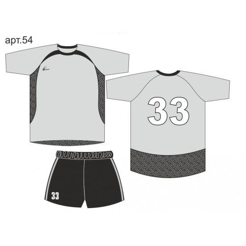 Форма для футбола арт. 54