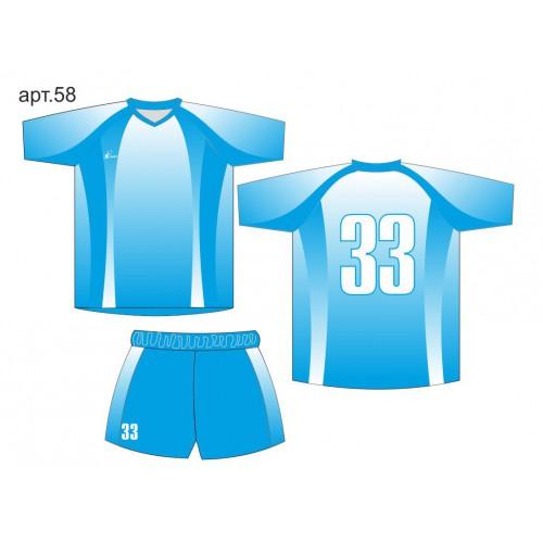 Форма для футбола арт. 58