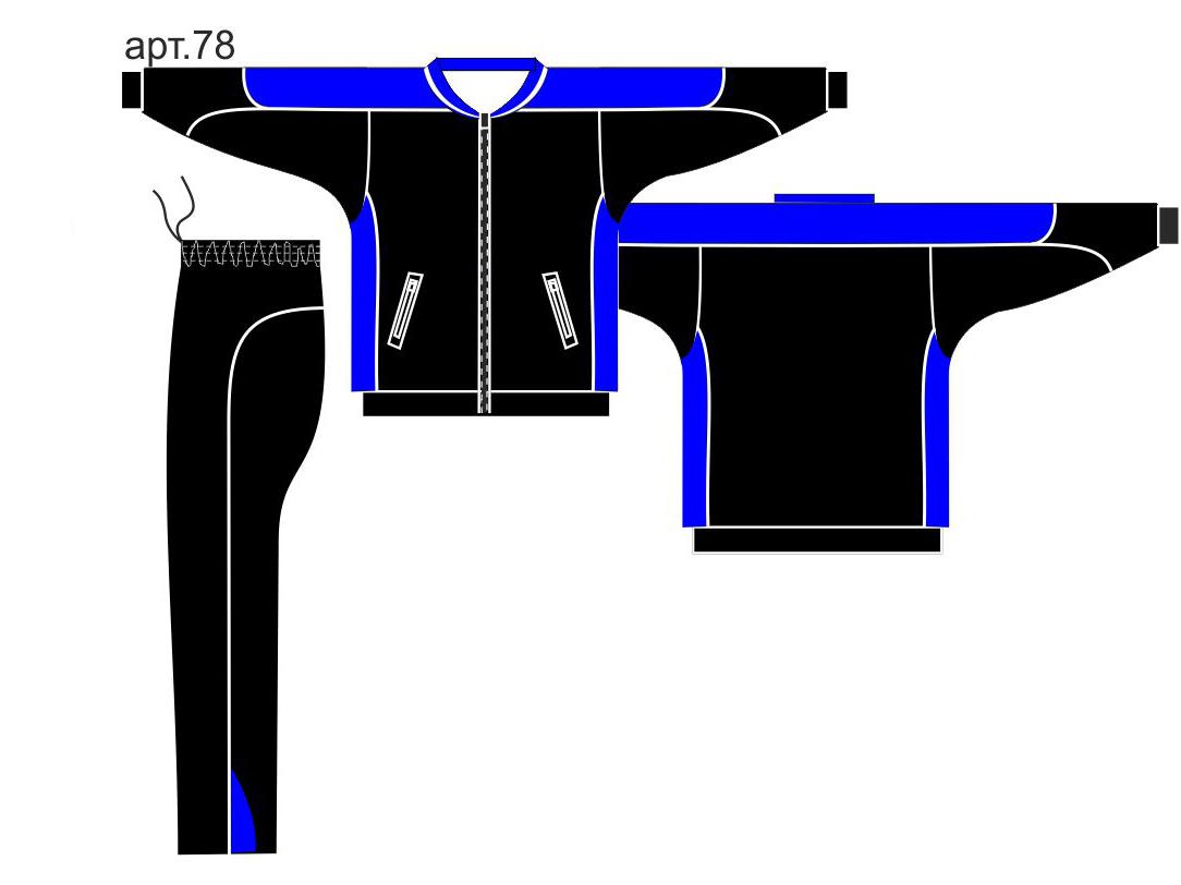 Пошив спортивных костюмов оптом